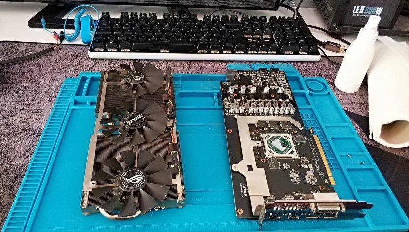 Ekran kartı macun değişimi ve fan temizliği