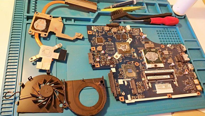Fan temizliği ve Macun değişimi