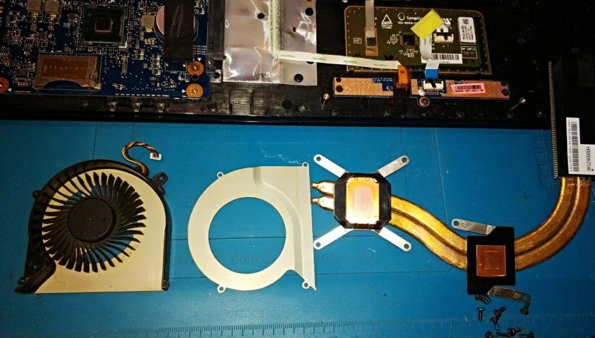 Fan temizliği ve termal macun değişimi